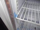 Refrigerador da barra da prata de vidro transparente da porta mini (SC68)