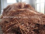 Sucata de fio de cobre 99,995%
