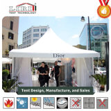 Teto de metal movível pequeno Gazebo Canopy Tent for Backyard Gathering Events