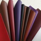 Cuoio del PVC del cuoio sintetico del PVC del cuoio della valigia dello zaino degli uomini e delle donne di modo del cuoio del sacchetto del fornitore Z084 di certificazione dell'oro dello SGS