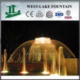 Fonte de decoração de jardim econômico com recurso de água especial para piscina de círculo