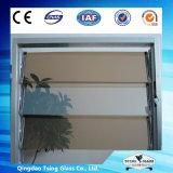 装飾的な染められたルーバーガラス窓/ガラスルーバー