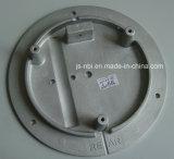 Plaque de base en aluminium moulé en aluminium fabriquée en Chine pour l'industrie de la vanne Utilisation avec sablage
