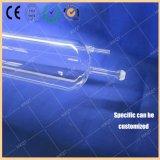 Température élevée de 1200 degrés Four Quartz Tube central 156 * 3 * 1600 mm