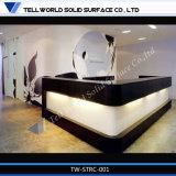 Стол приема салона красотки поверхности СИД Tw искусственний каменный твердый