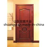 熱い販売のための現代デザインMDFの木の合成のドア