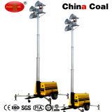 Mo Motor Diesel-5659 torre de luz móvel portátil