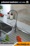 Torneira / torneira de cozinha de aço inoxidável no banheiro