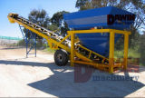 Planta mezcladora en seco con una tonelada Silos 50