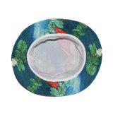 カスタム花の印刷の多彩なバケツの漁師の帽子