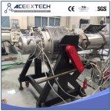 Câmara de ar plástica que faz a linha para a tubulação do PVC