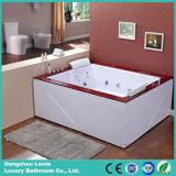 Vasca da bagno di legno di massaggio dell'acqua delle 2 persone (pannello esterno di TLP-666-Acrylic)