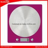 Pantalla LCD retroiluminada de 4 sensores de la plataforma de acero inoxidable Báscula de cocina 5000g / 1g