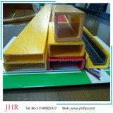Perfil do corrimão do Pultrusion do plástico reforçado fibra de vidro