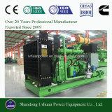 Ce de alta eficiencia de 300kw homologado ISO grupo electrógeno de Gas Natural