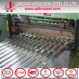 Feuille ondulée d'acier enduit en aluminium de zinc