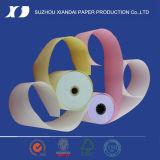 3 telas de NCR Rollo de papel de 76mm X 70mm