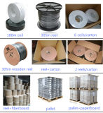 Xingfa fabricados de CCTV de 75 ohm (cable coaxial RG59).