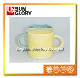Застекленные чашки пар фарфора Qlb016