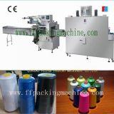 自動縫う糸の流れの収縮包装機械