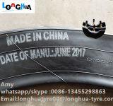 L'usine chinoise fournit un tube interne de qualité pour la moto (2.75-17)