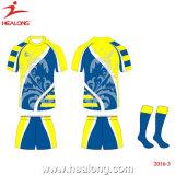 팀 고정되는 Customate에 의하여 승화되는 젊음 터치 풋볼 럭비 저어지 셔츠