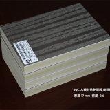 Tablero de laminación de la hoja de la espuma de la laminación de WPC del grano de madera
