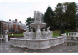 Jardin de Pierre fontaine en marbre naturel