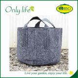 La piantatrice grigia esterna economica dell'orto di Onlylife coltiva il sacchetto