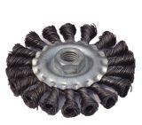 Brosse métallique nouée circulaire de torsion avec l'amorçage (JL-CTWBT)