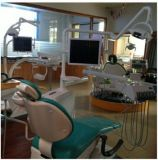 Câmera Intraoral dental com retrato na função do retrato