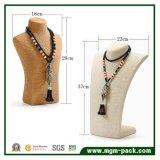 Rétro présentoir de collier de corde de chanvre de type