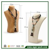 Ретро стиле пеньки веревки ожерелье подставка для дисплея