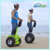 Het Nieuwe Merk Ecorider Twee e-Autoped 1266wh van China van de Autoped van Wielen de Zelf In evenwicht brengende Elektrische
