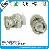 Connecteur coaxial de connecteurs de BNC Jd16A6 pour des connecteurs de BNC