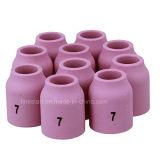 ugello di ceramica 53n61s dei pezzi di ricambio del cannello per saldare di TIG
