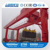 Guindaste de pórtico montado de Rmg do recipiente do tipo de Kuangyuan do fabricante de China trilho superior