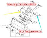 La strumentazione funzionante del caricatore della rotella di Sdlg LG933 LG936 LG938 parte il Pin 4043000119 4043000120