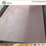 madera contrachapada de la madera dura del espesor de 5m m para el uso interior