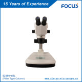 Microscópios estéreos com óptica paralela