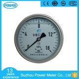 en 837-1 d'indicateur de pression de glycérine ou d'huile de silicone de 16MPa 100mm