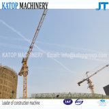Guindaste de torre 5t máximo chinês do padrão Tc5010 com patíbulo de 50m