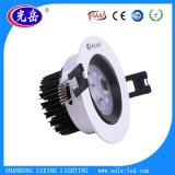 실내 빛 3W/5W/7W/9W/12W/15W/18W LED Dwonlight/LED 천장 빛