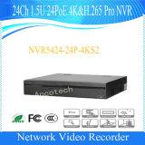 Dahua 24channel 1.5u 24poe 4k&H. 265のプロネットワークビデオレコーダー(NVR5424-24P-4KS2)