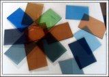 染められた着色されたフロートガラスの板ガラスのパネル