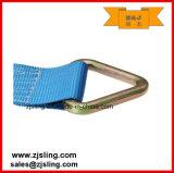 """cinta 4 """" azul da catraca da carga de 4 """" anéis-D de X 27 '"""