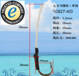 Crochet de pêche en acier inoxydable 10827-a
