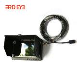 Pipeline Endoscopio Mini Cámara 1080P HD cámara de seguridad para el sistema de inspección con 7 pulgadas LCD Grabador DVR