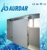Sitio de conservación en cámara frigorífica para el alimento congelado con alta calidad