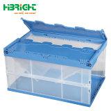 Cuadro de logística de la caja de plástico apilables